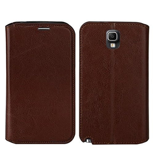 samsung galaxy note 3 leather wallet case - brown - www.coverlabusa.com