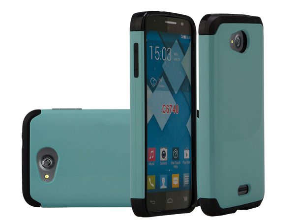 Kyocera Hydro Wave Case - teal - www.coverlabusa.com