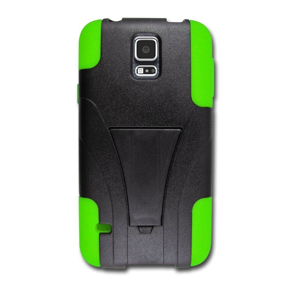 samsung galaxy s5 case with kickstand - green - www.coverlabusa.com