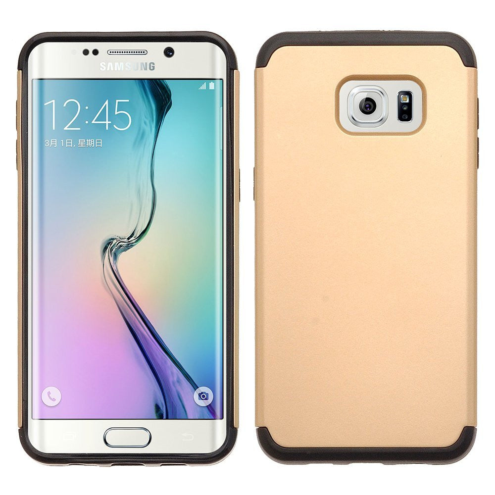 Samsung Galaxy S6 Edge Plus Case Impactdrop Protection Slim Hybrid Dual Layer Case For S6 Edge Plus Gold
