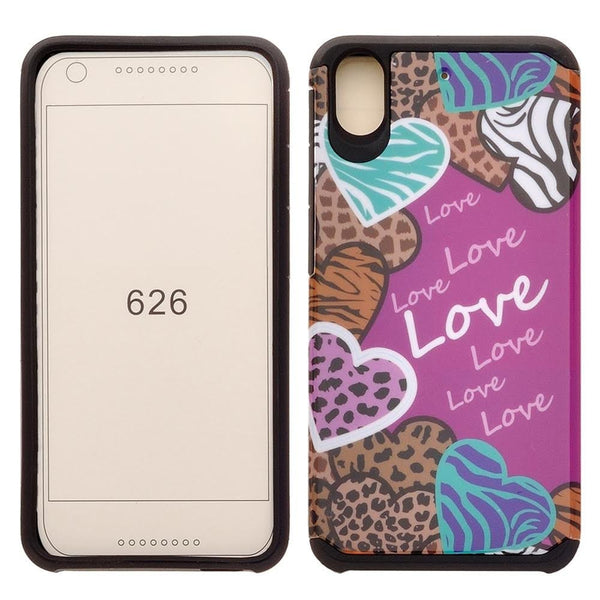 HTC Desire 626 Case - Animal Love - www.coverlabusa.com
