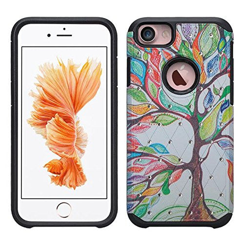iphone 6 / 6s hybrid diamond - colorful tree - www.coverlabusa.com