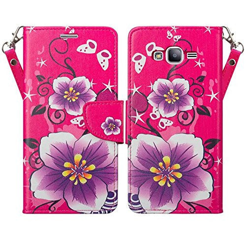 j7 wallet hot pink flower - www.coverlabusa.com