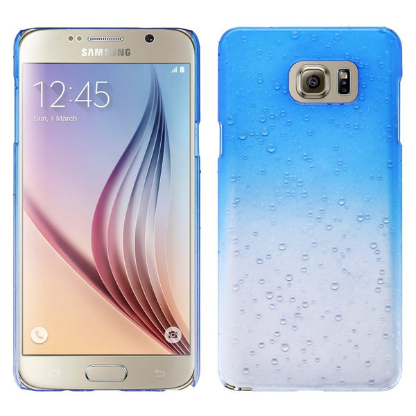 samsung galaxy note 5 case - water drops - blue - www.coverlabusa.com