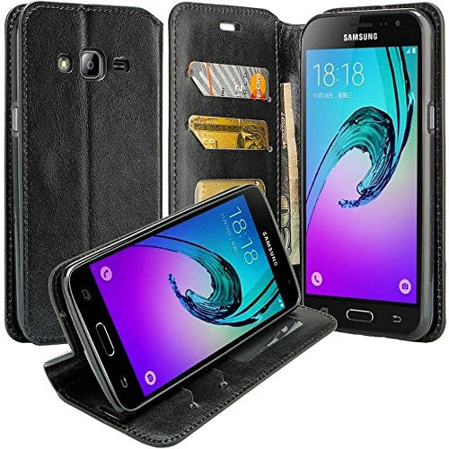 samsung galaxy j7 case - black wallet - www.coverlabusa.com