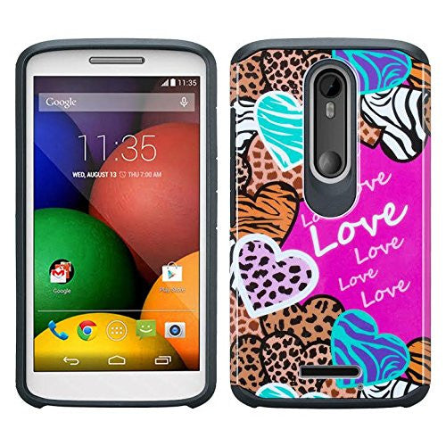 Motorola Droid Turbo 2 Case | Moto X Force Case | Kinzie Bounce Case - animal love - www.coverlabusa.com