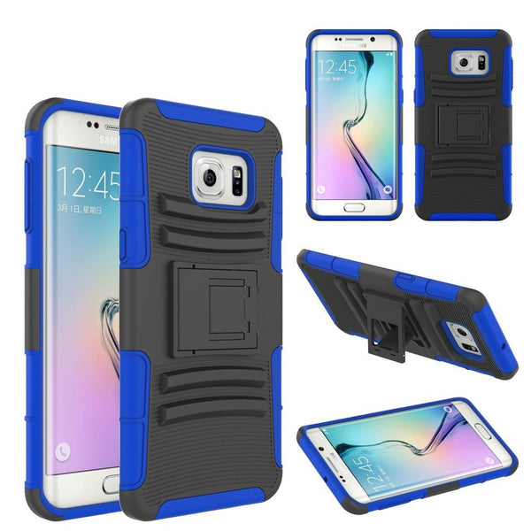 S6 Edge Plus case, S6 Edge Plus heavy duty hybrid holster case - coverlabusa.com