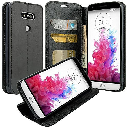 lg g5 wallet case - black - www.coverlabusa.com
