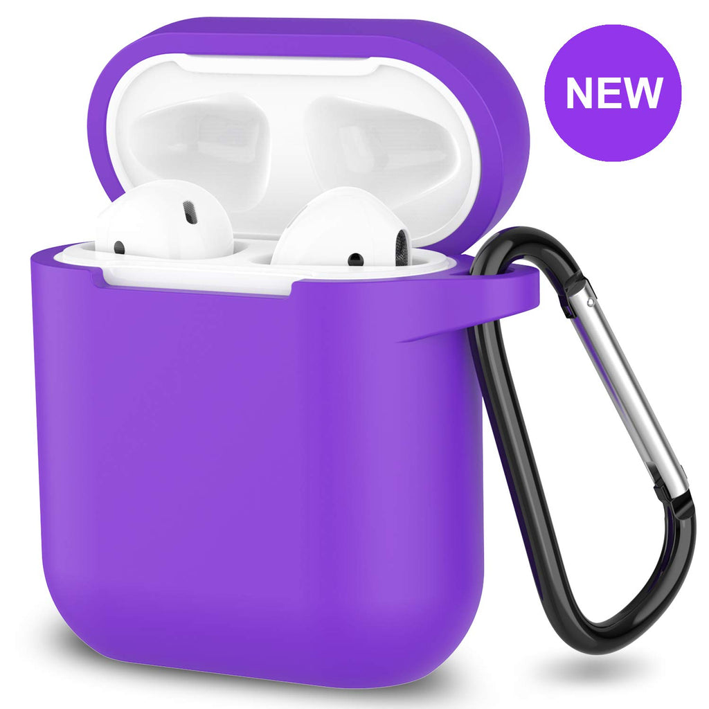 online store 768eb 9b86e New AirPods Case, 360°Protective Silicone AirPods Accessories Kit  Compatable with Apple AirPods 1st/2nd Charging Case [Not for Wireless  Charging ...