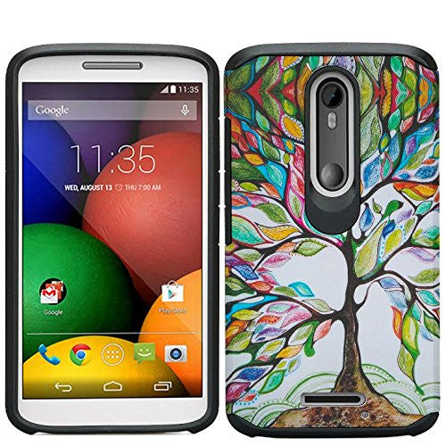 Motorola Droid Turbo 2 Case | Moto X Force Case | Kinzie Bounce Case - colorful tree - www.coverlabusa.com