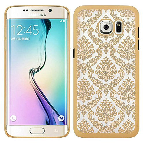 samsung galaxy S7 case - damask vintage case - gold - www.coverlabusa.com