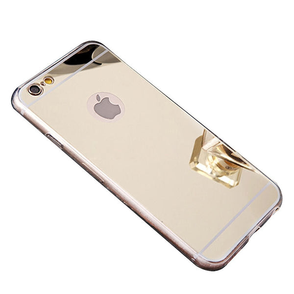 iphone 7 case, apple iphone 7 mirror case gold - www.coverlabusa.com