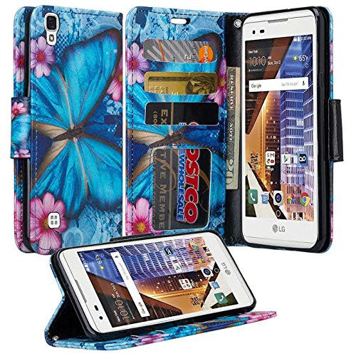 lg tribute hd cover,tribute hd wallet case - midnight butterfly - www.coverlabusa.com