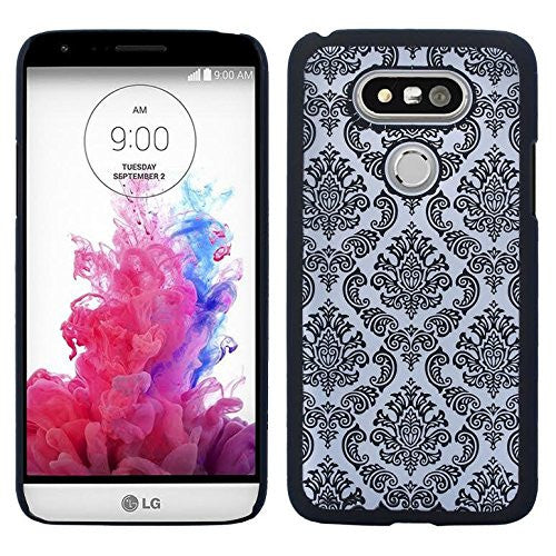 lg g5 slim damask case - black - ww.coverlabusa.com