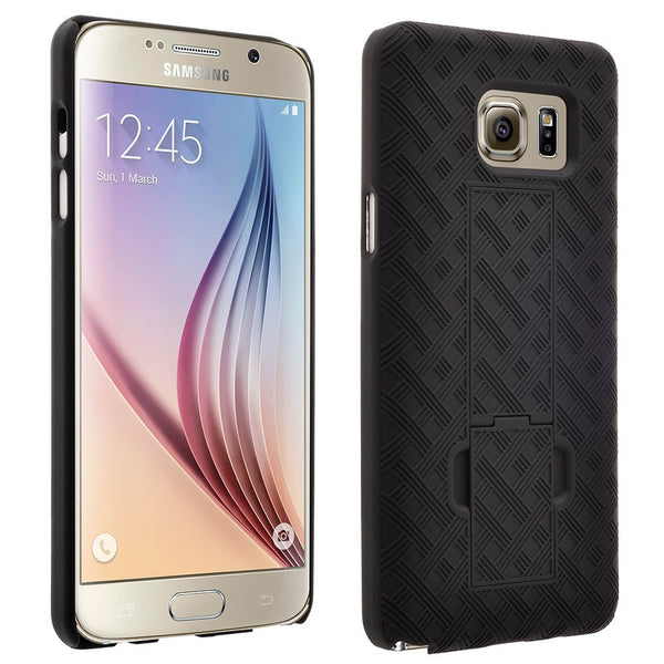 samsung galaxy note 5 holster shell combo case - black - www.coverlabusa.com
