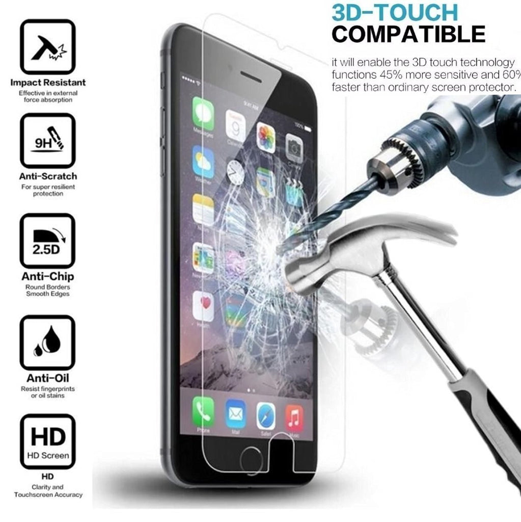 iPod Touch 5, Touch 6 Generation Tempered Glass Screen Protector - www.coverlabusa.com