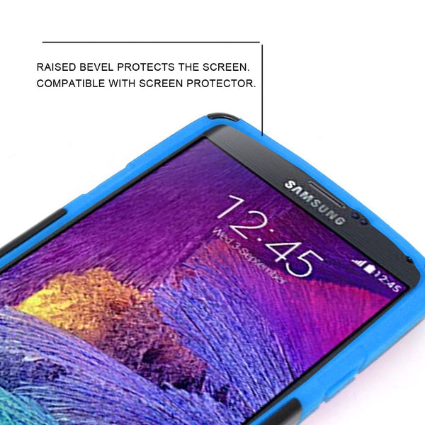 Samsung Galaxy Note 5 Case built in kickstand - Blue - www.coverlabusa.com