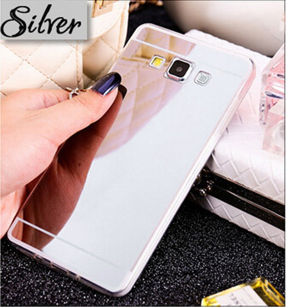 Copy of Galaxy J7 Case, Samsung Galaxy J7 Case Luxury Mirror Back Shock-Absorption TPU Bumper Anti-Scratch Bright Reflection Protective Case Cover for Galaxy J7 - Silver, www.coverlabusa.com