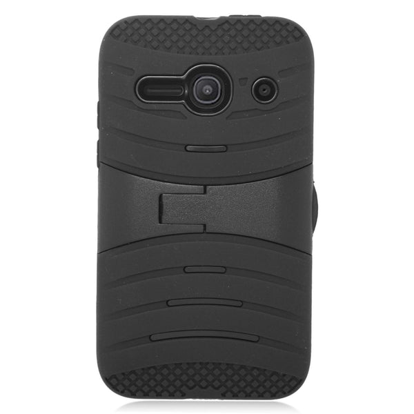 Alcatel Onetouch Evolve 2 case - Black - www.coverlabusa.com