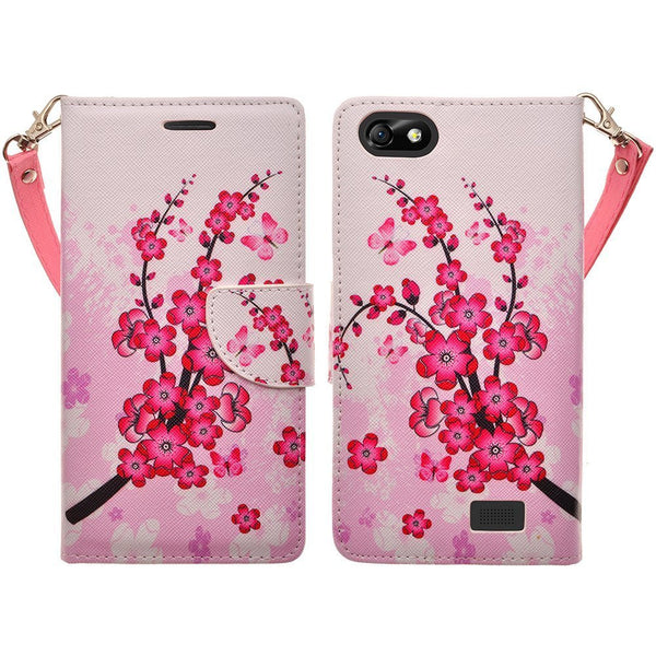 Apple iPhone 6s / 6 Wallet Case - Cherry Blossom