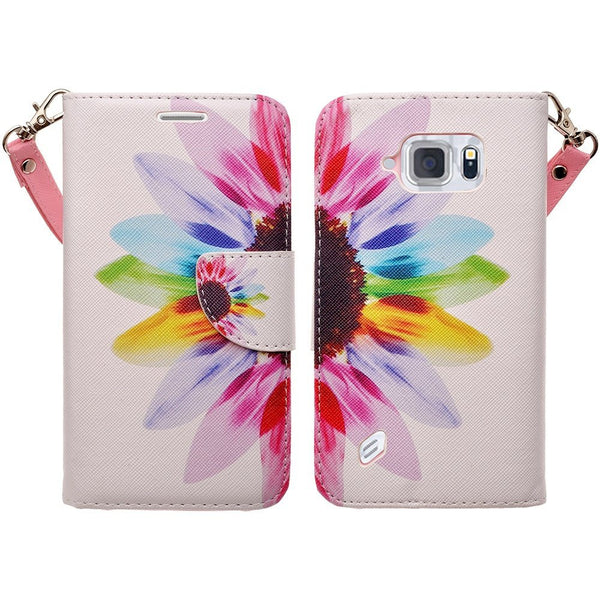 s6 active sunflower wallet case - www.coverlabusa.com