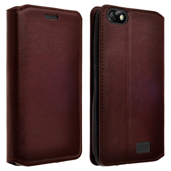 iphone 6 plus case, iphone 6s plus case wallet case brown - www.coverlabusa.com