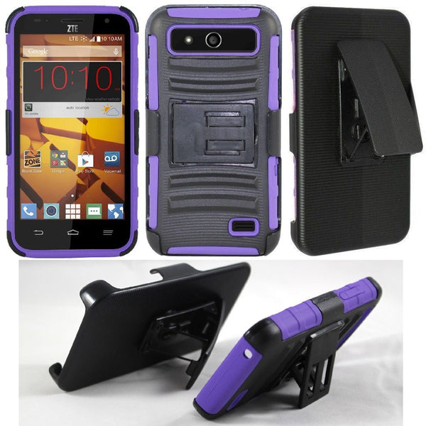 zte speed case - purple - www.coverlabusa.com