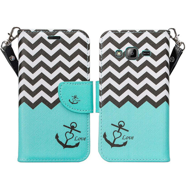 core prime wallet case, www.coverlabusa.com teal anchor