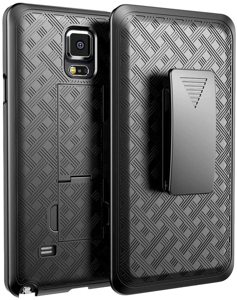 Galaxy Note 4 Case Holster Shell Combo - Black - www.coverlabusa.com