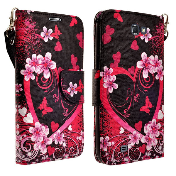 zte speed case - heart butterflies - www.coverlabusa.com