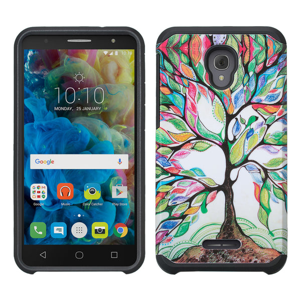 Alcatel Fierce 4 Case, Alcatel Onetouch Allura Case, Alcatel Pop 4+ Hybrid Case - tree - www.coverlabusa.com