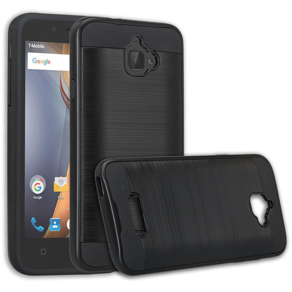 coolpad catalyst case cover - brush black - www.coverlabusa.com