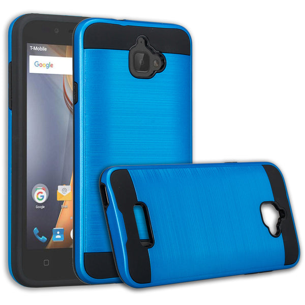 coolpad catalyst case cover - brush blue - www.coverlabusa.com