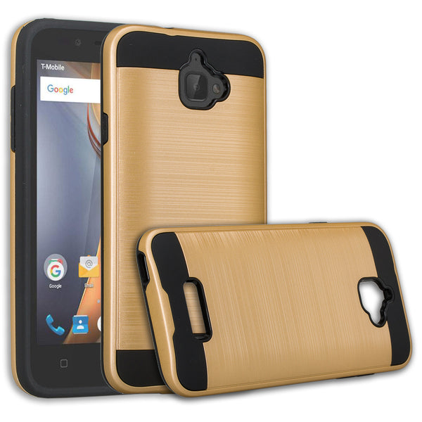 coolpad catalyst case cover - brush gold - www.coverlabusa.com