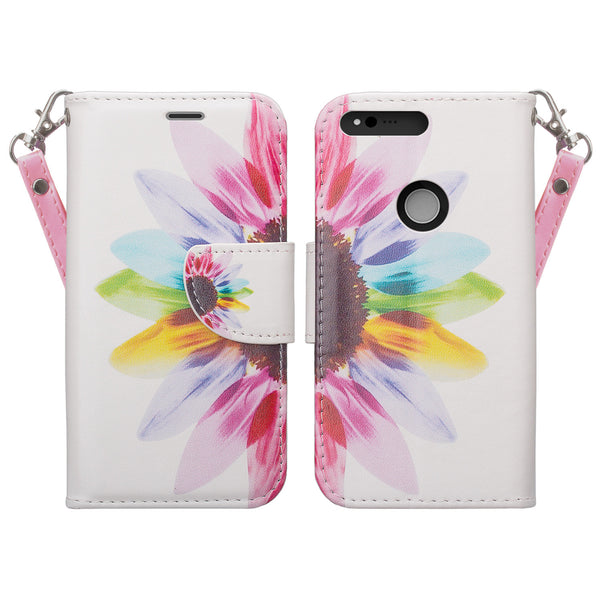 google pxiel cover, pixel wallet case - vivid sunflower - www.coverlabusa.com