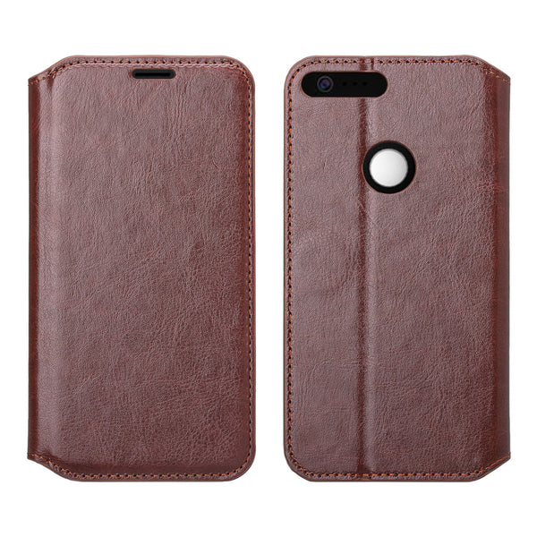 google pixel xl cover, pixel xl wallet case - brown - www.coverlabusa.com