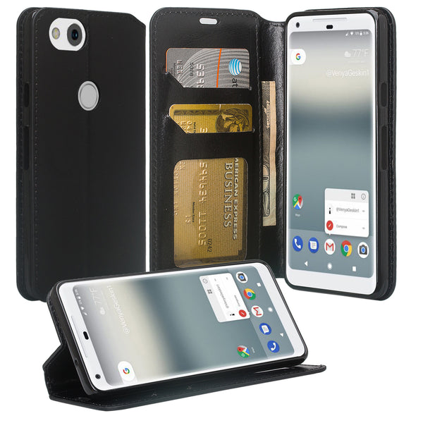 Google Pixel 2 Wallet Case - black - www.coverlabusa.com