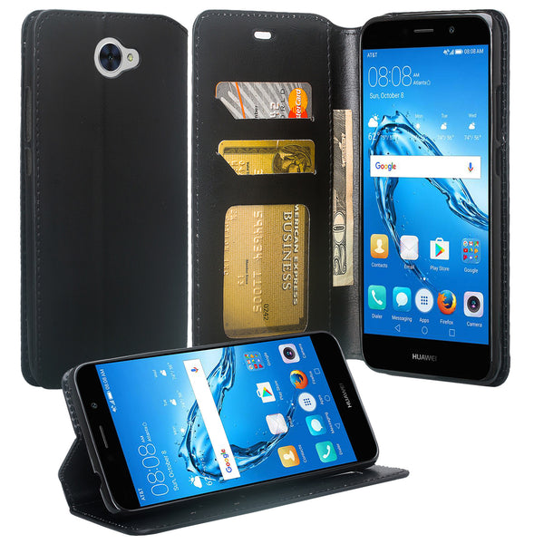 Huawei Ascend XT 2 Wallet Case - black - www.coverlabusa.com