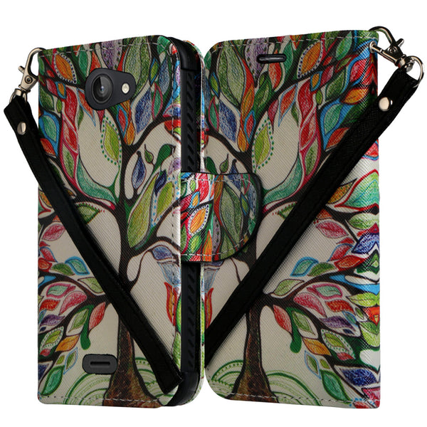 Kyocera Hydro Wave Case - colorful tree - www.coverlabusa.com