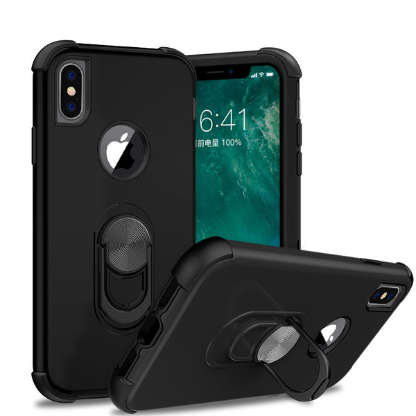 apple iphone xs max sgp ring - black/black - www.coverlabusa.com
