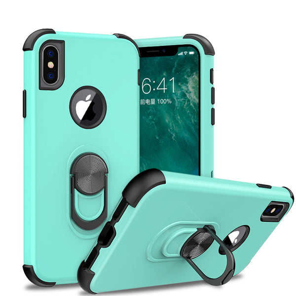 apple iphone xs max sgp ring - teal/black - www.coverlabusa.com