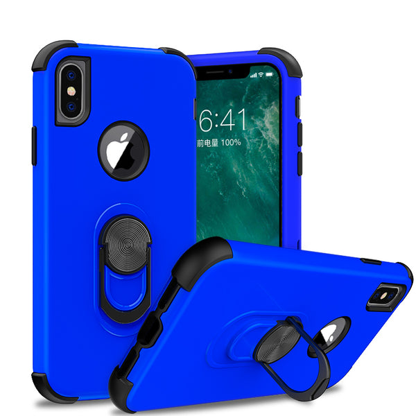 apple iphone xs max sgp ring - blue/black - www.coverlabusa.com