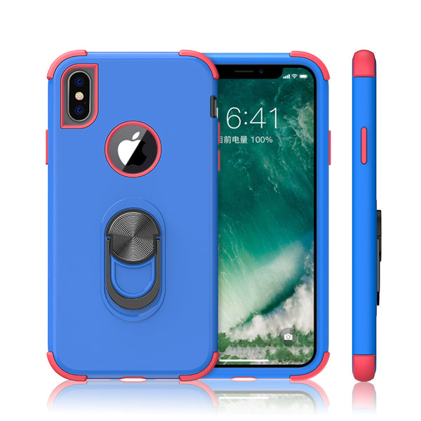 apple iphone xs max sgp ring - blue/pink - www.coverlabusa.com