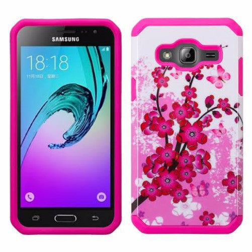 new style dca43 e41f7 Galaxy J3 Case, Galaxy Sky, Galaxy Express Prime Case, Galaxy Sol, Galaxy  Amp Prime [Shock/Impact Resistant] Hybrid Dual Layer Defender Protective ...