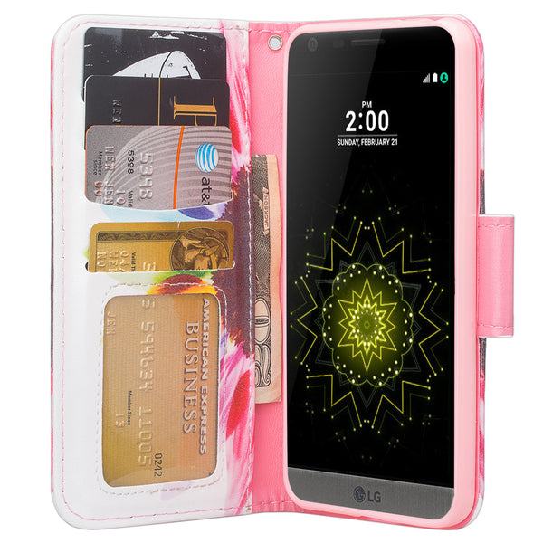 LG G6 Wallet Case - sunflower - www.coverlabusa.com