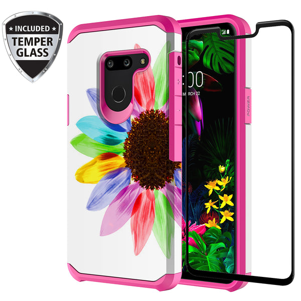 lg g8 thinq hybrid case - vivid sunflower - www.coverlabusa.com