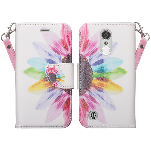 LG LV3 vivid sunflower wallet case - www.coverlabusa.com
