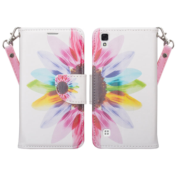 lg tribute hd cover,tribute hd wallet case - vivid sunflower - www.coverlabusa.com