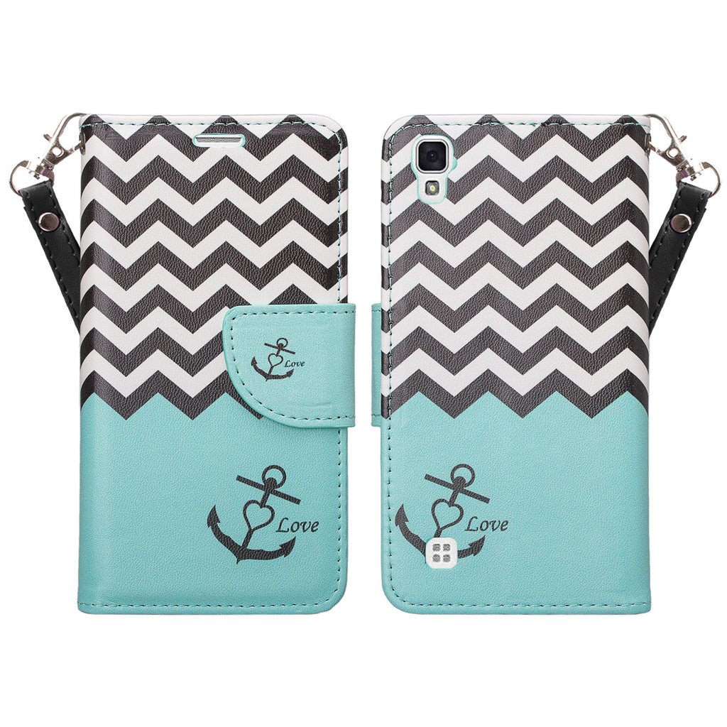 lg tribute hd cover,tribute hd wallet case - teal anchor - www.coverlabusa.com
