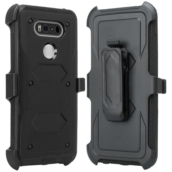 V20 case, v20 holster shell | heavy duty | black